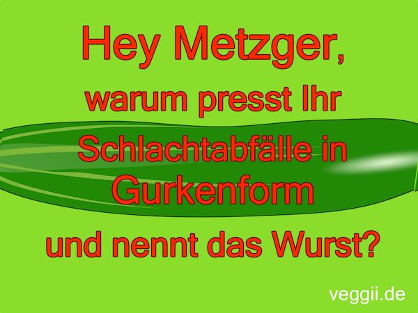 metzger-gurke vegan