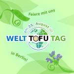 Weltttofutag Banner quadratisch